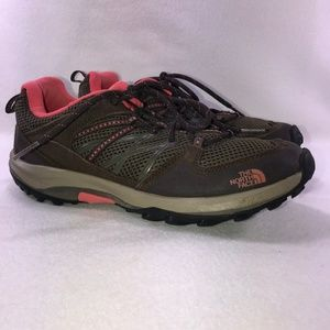 The North Face Brown Vibram Hiking Shoes 8.5